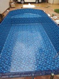 Troca de Vinl em Piscina Jardinopolis Estampa Blue Master 0,7mm-2